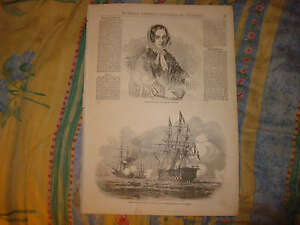 ANTIQUE SALE MOROCCO SWEDEN SWEDISH BREMER AUTHOR PRINT