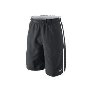 New NIKE Boys Dry Fit Stay Cool Anytime Shorts CharcoalWhite 403864-060