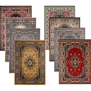 Traditional Medallion Persien Style 8x11 Large Area Rug - Actual 7' 8