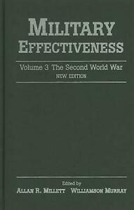 Military Effectiveness by Allan R Millett (English) Hardcover Book Free Shipping