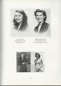 1948 PENNSYLVANIA COLLEGE FOR WOMEN YEARBOOK THE PENNSYLVANIAN PITTSBURGH PA $39.00