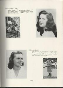 1946 PENNSYLVANIA COLLEGE FOR WOMEN YEARBOOK THE PENNSYLVANIAN PITTSBURGH PA $39.00