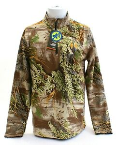 Under Armour Advantage Max-1 Camo Wind Stopper Hunting Shirt Men's $260