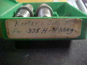 herters 375 hh mag dies set of 2 used