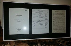 Road To Avonlea Anne Of Green Gables souvenir framed from set
