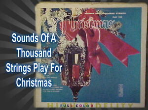 Christmas Music Sounds Of A Thousand Strings Play For Christmas