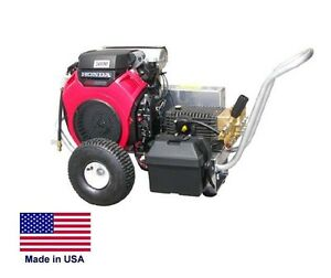 PRESSURE WASHER Commercial 8 GPM - 3000 PSI - AR Pump - 20Hp Honda - Accessories