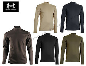 Under Armour 1244393 Men's ColdGear® Infrared Tactical Fitted Mock Under Shirt