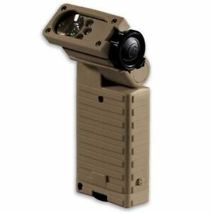STREAMLIGHT 14000 SIDEWINDER LED TACTICAL HELMET MOUNT FLASHLIGHT - COYOTE TAN