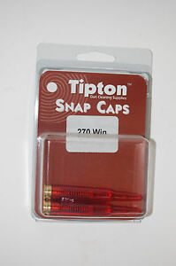 Battenfeld Tipton 270 Winchester Set of 2 Nice Snap Caps