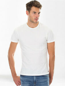 Galaxy by Harvic Men's Crew Neck T-Shirts 3 PackWht Tagless-LOT of 12 Per Case
