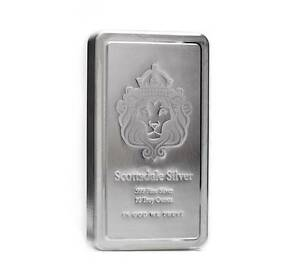 10 oz Scottsdale STACKER® Silver Bar .999 Silver #A182