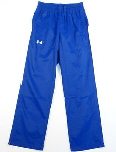 Under Armour Cold Gear Blue & White Loose Fit Track Pants Mens NWT