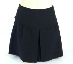 Nike Golf Tour Premium Black Skort with Detachable Stretch Shorts Woman NWT