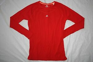 WOMENS SHIRT TOP SPORTS ATHLETIC = ADIDAS = SIZE Large= CLIMALITE= ME42