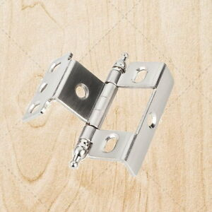 Furniture Cabinet Hinges Inset Brushed Satin Nickel 3 4quot; x 3 4quot; hx138
