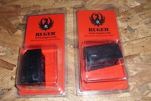 2 - Ruger 77/22 & 96/22 - factory NEW 6rd magazines mags - .22 hornet  (R119*)