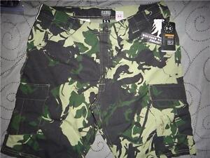 UNDER ARMOUR WOUNDED WARRIOR CAMO CARGO SHORTS SIZE W36 34 32 30 MEN NWT $54.99
