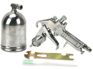Deluxe GRAVITY FEED AIR SPRAY GUN Professional Brand New Paint Sprayer Tool