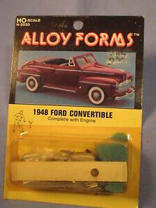ho scale alloy forms 1948 ford convertible h