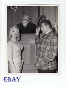 Julie Redding Raymond Burr VINTAGE Photo Red Skelton Hour circa 1954