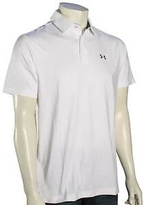 Under Armour Playoff Polo - White  Graphite - New