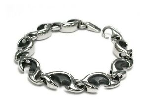 Great Tribal Design Men's bracelet - Sterling Silver .925 ROCK BIKER