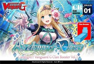 cardfight academy of divas booster box