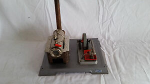 used wilesco d8 stationary live steam engine