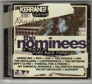 GO976 The Nominees 14 tracks various artists 2004 Sealed Kerrang CD
