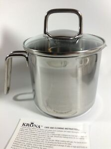 Norpro Krona Stainless 8 Cup Multi Pot Straining Lid Pasta Vegetable Steamer NEW