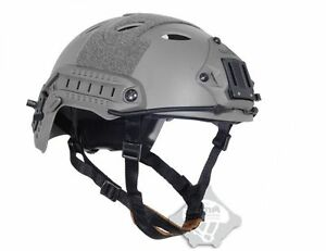 FMA FAST Tactical ABS Protective Military Helmet FG Grey For Airsoft Paintball
