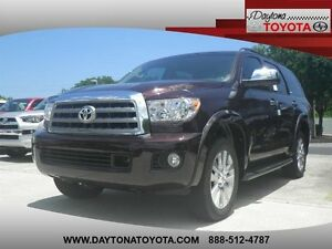 2016 Toyota Sequoia  2016 Suv New Regular Unleaded V-8 5.7 L346 6-Speed Automatic wOD 4WD Red