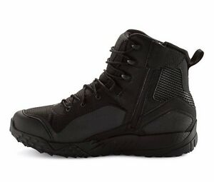 Under Armour Valsetz RTS Side Zip UA Tactical Boots Black Shoes 1257847 Sz 8-13