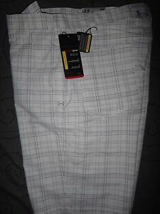 UNDER ARMOUR GOLF PLAID DRESS SHORTS W32 36 38 40 MENS NWT $69.99