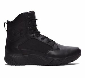 Men Under Armour Stellar Tactical WIDE 2E Boot *1289001* UA Shoes Black All Sz