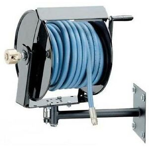 PRESSURE WASHER HOSE REEL with Mounting Bracket - 250 feet