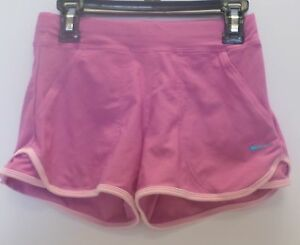 New Nike Girl's-Youth Fit Dry Shorts Pink 207453-690