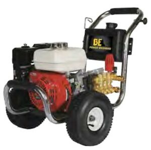 BE PE-2565HWSGENSP Pressure Washer 2500 PSI Gas Cold Water