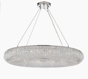 Crystal Halo Chandelier Modern/Contemporary Lighting Floating Orb Chandelier 41