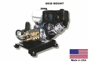 PRESSURE WASHER Commercial - Skid Mounted - 4 GPM - 4000 PSI - 13 Hp Honda - CAT