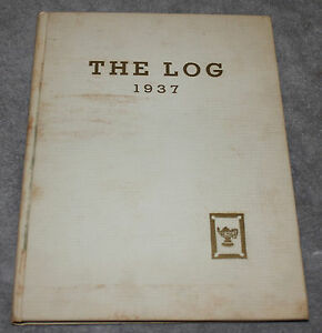 VINTAGE NORWEGIAN LUTHERAN DEACONESS HOSPITAL THE LOG NURSING YEARBOOK 1937