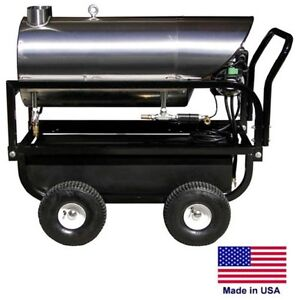 WATER HEATER for Cold Water Pressure Washers - 115V Diesel Burner - 4 to 6 GPM