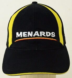 Menards 98 Nascar Home Improvement Embroidered Black Baseball Hat Cap Adjustable