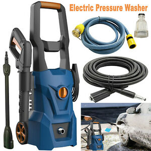 Electric Pressure Washer 3000PSI 1.8GPM High Power Cleaner Machine Home NEW $129.99