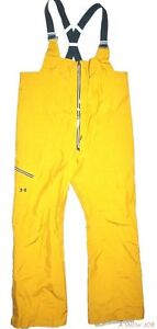New Under Armour Mens UA GTX Chugach Bib Ski Snowboard Pants Large