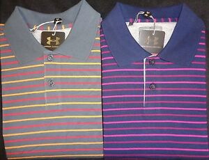 NEW MENS UNDER ARMOUR SS NEWCOMER PIMA POLO GOLF SHIRT PICK SIZE