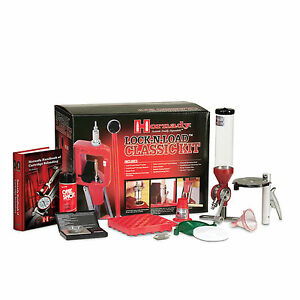 HornadyLock N Load Classic Reloading Press Kit W Electronic Scale 085003