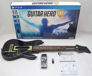 NEW Sony PS4 Guitar Hero LIVE Wireless Controller +USB Dongle Activision NO-GAME
