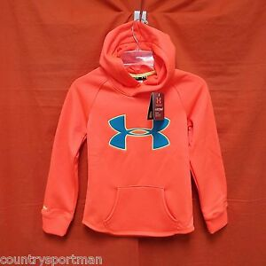 UNDER ARMOUR Storm Caliber Hoodie Girl's (YSM) #1264234-877 AfterburnPacific